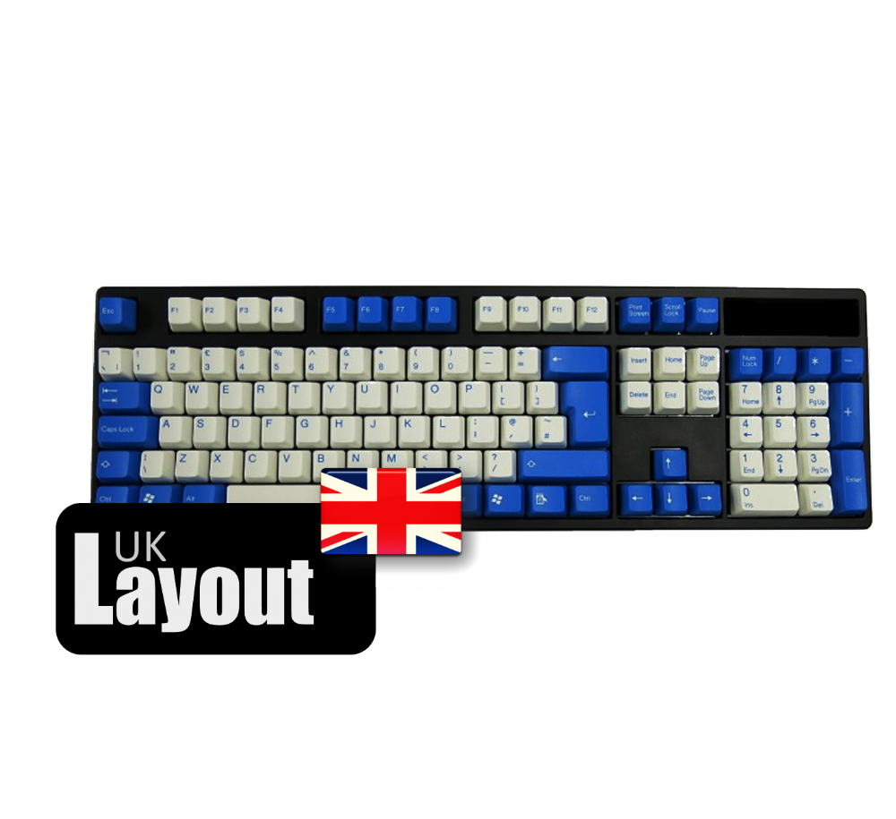Tai-Hao ABS Double Shot Keycaps Raindrop UK